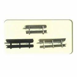 Stainless Steel Chanae Conveyor Belt Fasteners, Size: 2