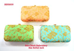 Box Clutch Embroidery