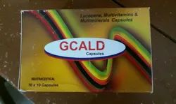 Gcald Capsulesvitamins Multivitamins for Clinic, Packaging Type: Box