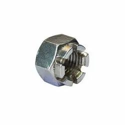 Stainless Steel SS Castle Nut, Size: 6mm - 20 Mm
