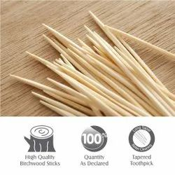 wooden tooth pick