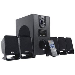 Black Intex Room Speaker