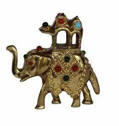 Brass Ambabari Elephant