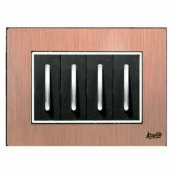 Brush Copper Modular Switch