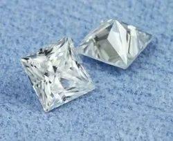 GH VVS  Princess Moissanite Diamond
