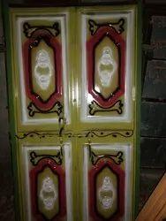 Standard Brown Iron Doors, Thickness: 6*3, Material Grade: 1