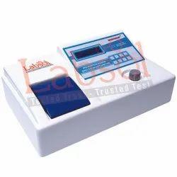 UV Visible Single Beam Spectrophotometer