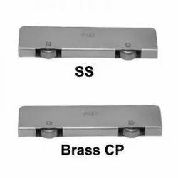SS & Brass Body Two Wheel Mini (IMP Bearing)