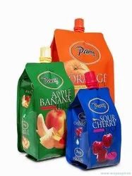 Fruit Juice Packaging Pouch