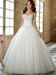 White Outer Layer Tulle Vintage Long Sleeve Lace Wedding Dresses