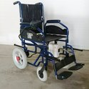 Transporter Wheelchair Powered With Manual Lifting Option