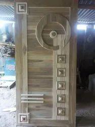 Exterior Teak Wood Doors, For Home