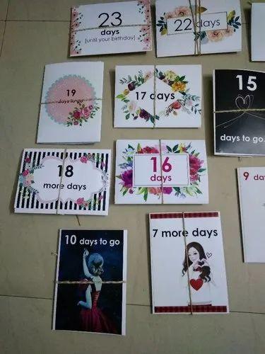 Countdown Birthday Cards