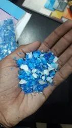 Blue And White Plastic Drum Grinding