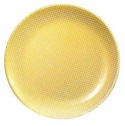 Honey Gold Melamine Plate