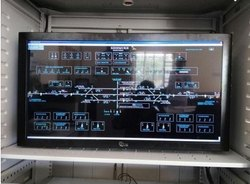 Monitor for VDU maintenance and control Terminal