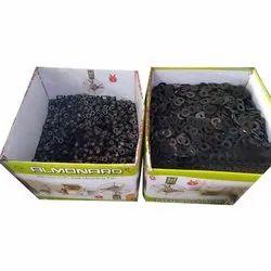 Mild Steel Washer, Packaging Type: Box