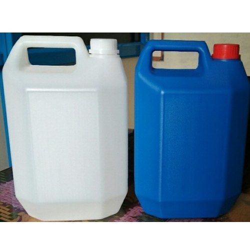 Plastic Can - 5 Litre F Type HDPE Jerry Can Manufacturer from Bengaluru
