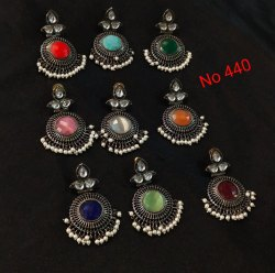 Black Tops Earring