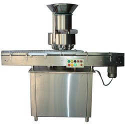 Automatic Four Head Vial Cap Sealing Machine