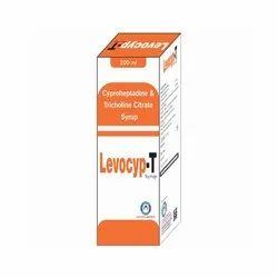 Cyproheptadine And Tricholine Citrate Syrup