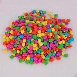 Round Chocolate Gems Candies