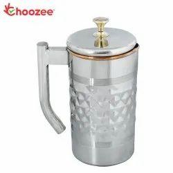 Choozee - Steel Copper Jug (Diamond) - 2.2 Ltr.
