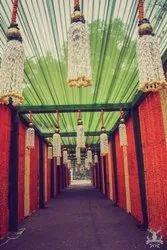 Wedding Main Door Flower Decoration Services