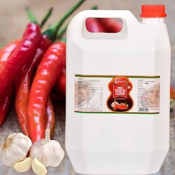 Red Garlic Chilly Sauce - 5 kg