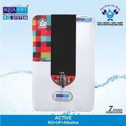 Aqua Soft Active RO Water Purifier, Capacity: 9 L, Features: Auto Shut-Off