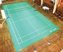 Indoor Anti Slip PU/PVC/VINYL Badminton Court Flooring