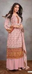 Aashi Vol 2 By Bipson Pashmina Silk Digital Printed Salwar Kameez