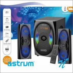 2.1CH 120W RMS BT Wireless Multimedia Speaker