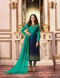 Pr Fashion Launched Beautiful Heavy Designer Straight Suit