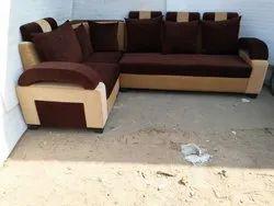 Modern Fabric L-Shape Sofa Set for Home