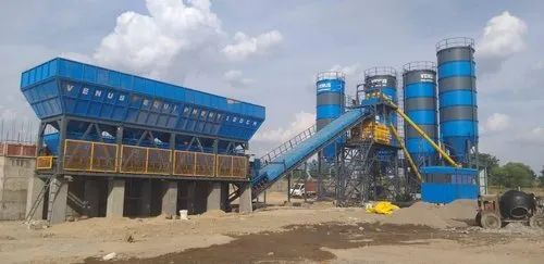 Concrete batching plant inline series