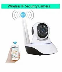 Tech Gear home Security IP Camera Wireless Camera Wi-Fi 720P Night Vision Dual Antenna Support
