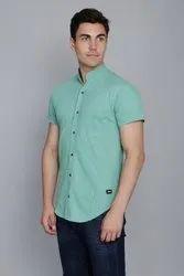 Pistachio Green Pique Shirt