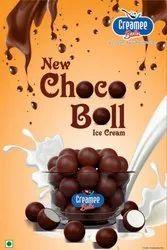 Choco Ball Icecream, Packaging Type: Box