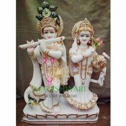 marble jugal radha krishna sculpture