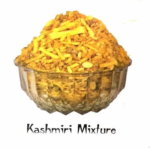 Bikaner Kashmiri kaju Mixture Namkeen, Packaging Size: 18 Gm