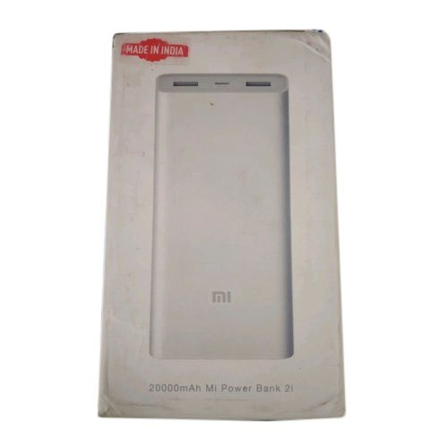 20000 mAh 2i Mi Power Bank for Mobile Charging