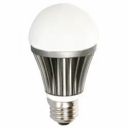Round Cool daylight Aluminum LED Bulb, 5 W and Below