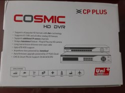 CP Plus 8ch DVR Cosmic (Cp-Uvr801e1-Cs)