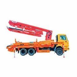 37 Meter Concrete Boom Pump Truck