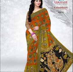 Lakhani Kalamkari Vol 1 904 A Saree