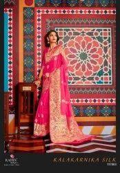 Rajtex Kalakarnika Silk Saree Catalog Collection