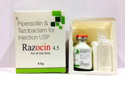 Piperacillin 4gm Tazobactam 500 mg Injection