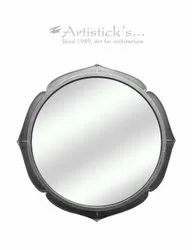 White Metal Mirrors
