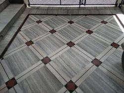 Bhutra Indian Marble Marble Floor Tile, Shape: Rectangle, for Flooring